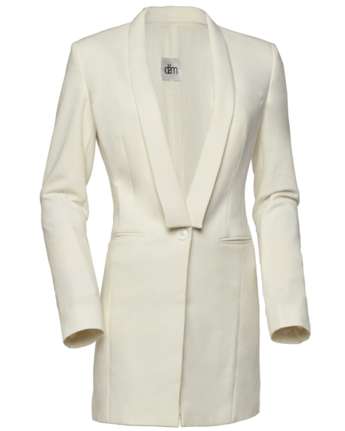 womens cotton blazer