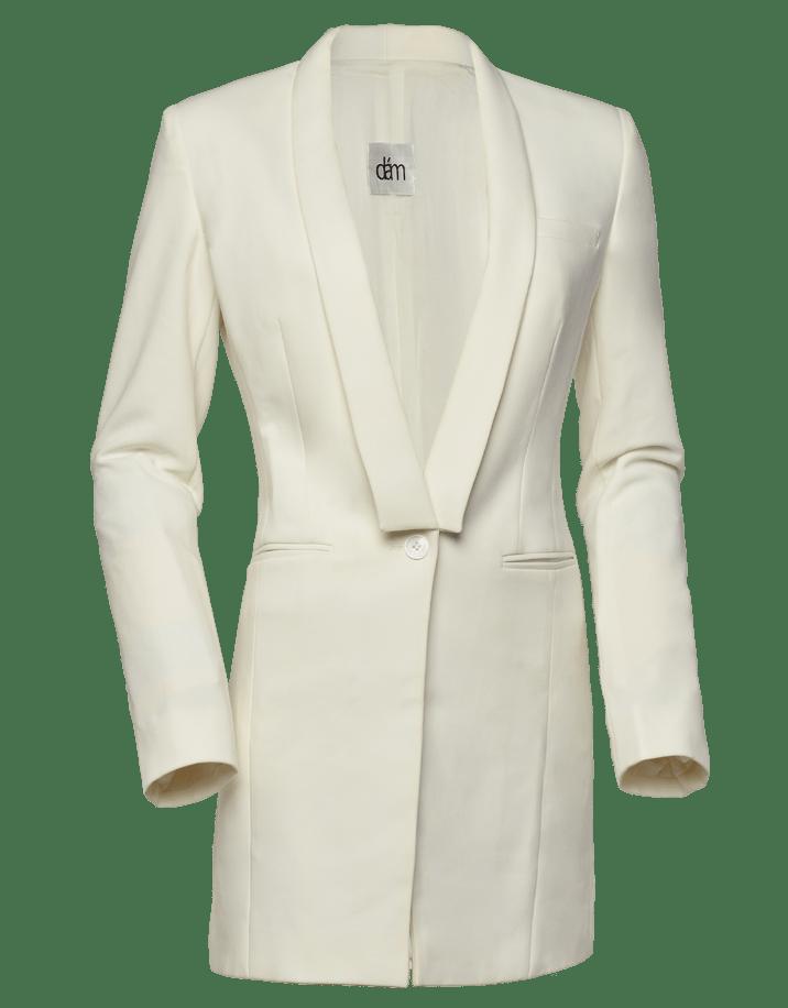 womens cotton blazer